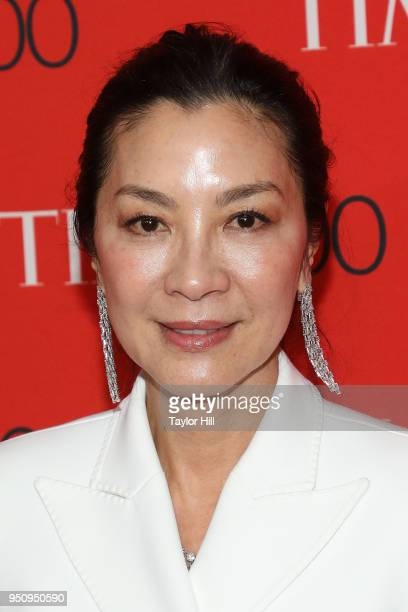 Michelle Yeoh attends the 2018 Time 100 Gala at Frederick P Rose Hall Jazz at Lincoln Center on April 24 2018 in New York City