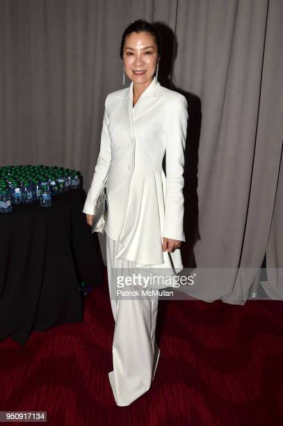Michelle Yeoh attends the 2018 TIME 100 Gala at Jazz at Lincoln Center on April 24 2018 in New York City