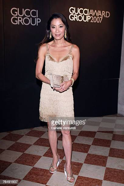Michelle Yeoh attends the 2nd Gucci Group Awards ceremony during Day 6 of the 64th Annual Venice Film Festival on September 3, 2007 in Venice, Italy.