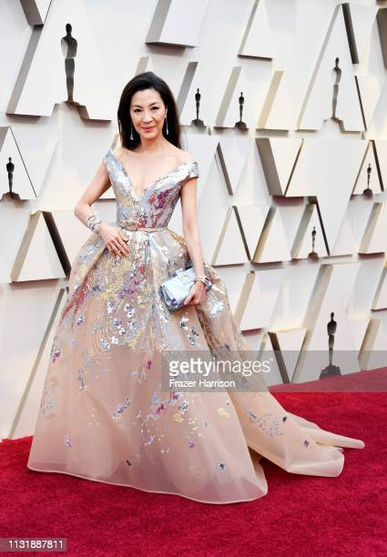 Michelle Yeoh attends the 91st Annual Academy Awards at Hollywood and Highland on February 24 2019 in Hollywood California
