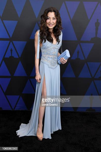 Michelle Yeoh attends the Academy of Motion Picture Arts and Sciences' 10th annual Governors Awards at The Ray Dolby Ballroom at Hollywood Highland...