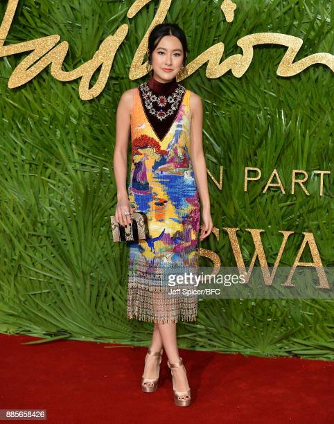 Michelle Yeoh attends The Fashion Awards 2017 in partnership with Swarovski at Royal Albert Hall on December 4 2017 in London England