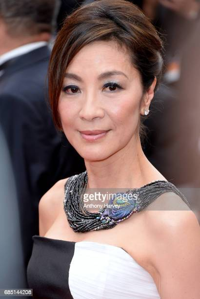 Michelle Yeoh attends the Nelyobov screening during the 70th annual Cannes Film Festival at Palais des Festivals on May 18 2017 in Cannes France