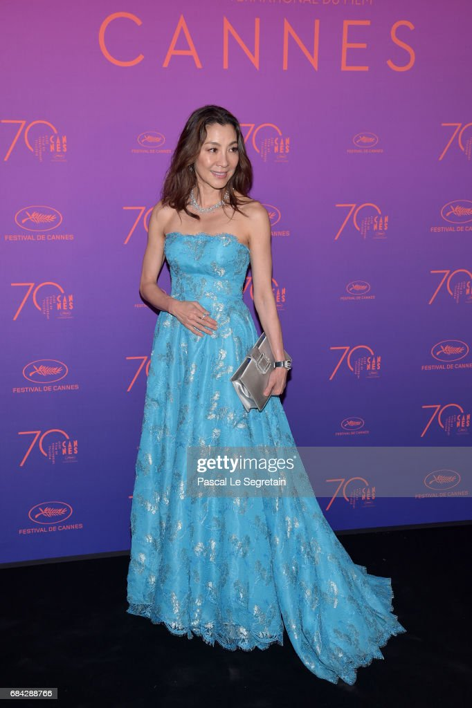 Opening Gala Dinner Arrivals - The 70th Annual Cannes Film Festival : News Photo