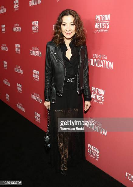 Michelle Yeoh attends the SAGAFTRA Foundation's 3rd Annual Patron of the Artists Awards at the Wallis Annenberg Center for the Performing Arts on...