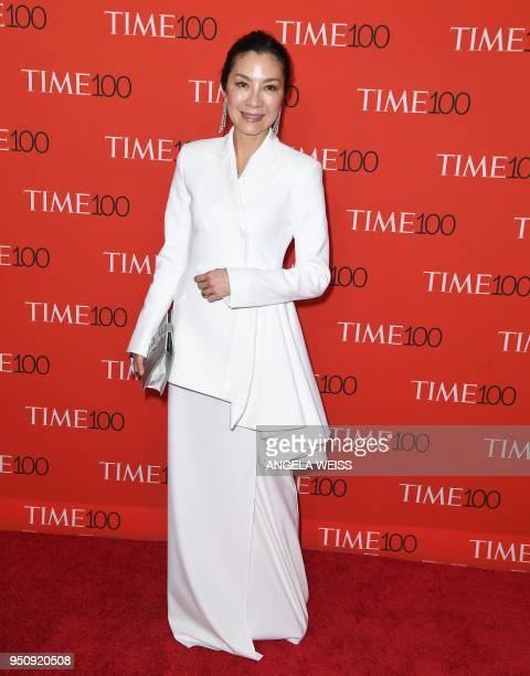 Michelle Yeoh attends the TIME 100 Gala celebrating its annual list of the 100 Most Influential People In The World at Frederick P Rose Hall Jazz at...