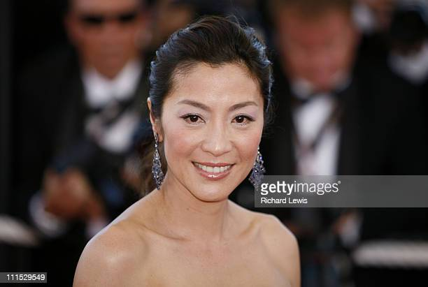 "Michelle Yeoh during 2006 Cannes Film Festival - ""Marie Antoinette"" Premiere at Palais des Festival in Cannes, France."