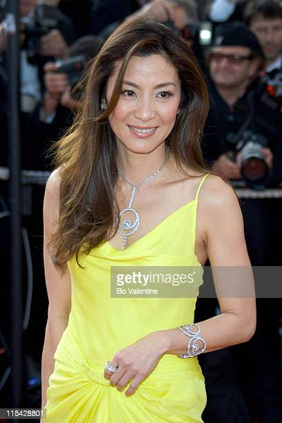 Michelle Yeoh during 2006 Cannes Film Festival Opening Night Gala and World Premiere of The Da Vinci Code Arrivals at Palais du Festival in Cannes...