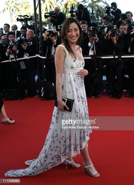 Michelle Yeoh during 2006 Cannes Film Festival 'Volver' Premiere at Palais Du Festival in Cannes France