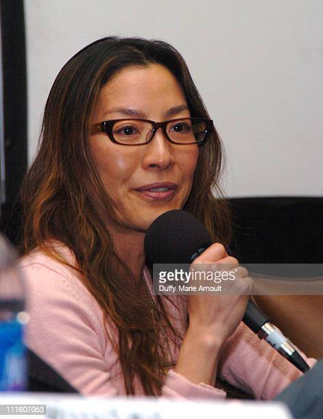 Michelle Yeoh during 2006 Sundance Film Festival East Meets West Meets East The Art Of Asian Cinema at Filmmaker's Lodge in Park City Utah United...