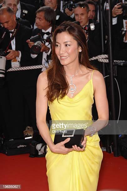 Michelle Yeoh during Cannes Film Festival 'Da Vinci Code' gala at Palais des Festivals Cannes in Cannes France