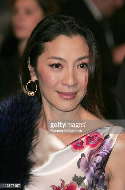 Michelle Yeoh during 'Casino Royale' World Premiere Outside Arrivals at Odeon Leicester Square in London Great Britain