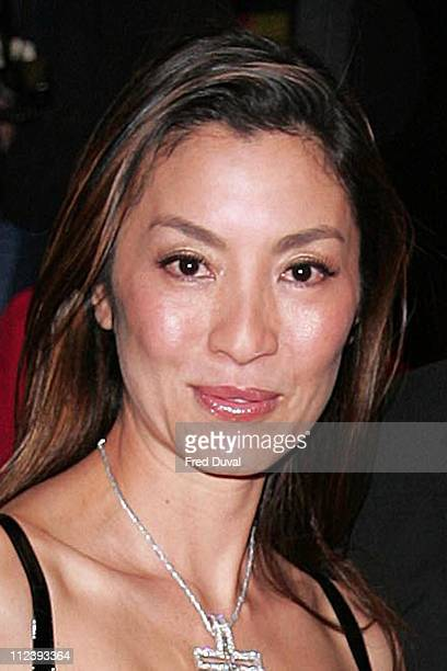 Michelle Yeoh during 'Memoirs of a Geisha' London Premiere Arrivals at Curzon Mayfair in London United Kingdom