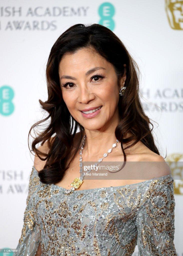 EE British Academy Film Awards - Press Room : News Photo