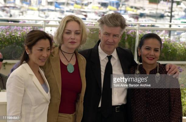 LR Michelle Yeoh Sharon Stone David Lynch Christine Hakim