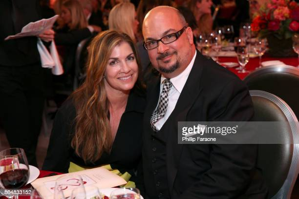 Michelle Zuiker and Anthony E Zuiker at Jane Seymour And The 2017 Open Hearts Gala at SLS Hotel on October 21 2017 in Beverly Hills California