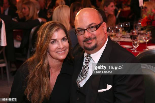 Michelle Zuiker and Anthony E Zuiker attend Jane Seymour And The 2017 Open Hearts Gala at SLS Hotel on October 21 2017 in Beverly Hills California