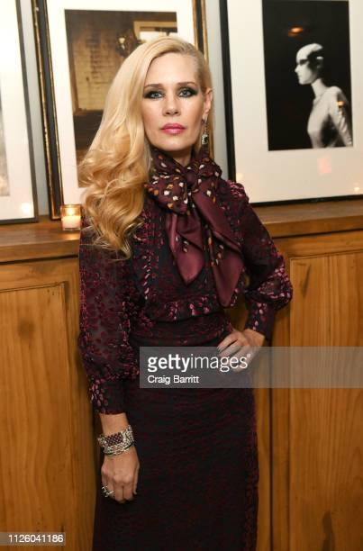 MichelleMarie Heineman attends an exclusive candle lit dinner party hosted by philanthropist MichelleMarie Heineman to welcome Jacques Bounin of Le...