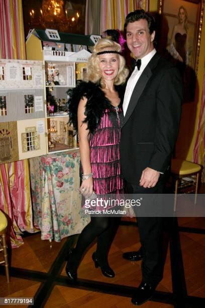 MichelleMarie Heinemann and Jon Heinemann attend Portrait artist ZITA DAVISSON's Great Gatsby Party A Roaring 20's Evening at Private Residence on...