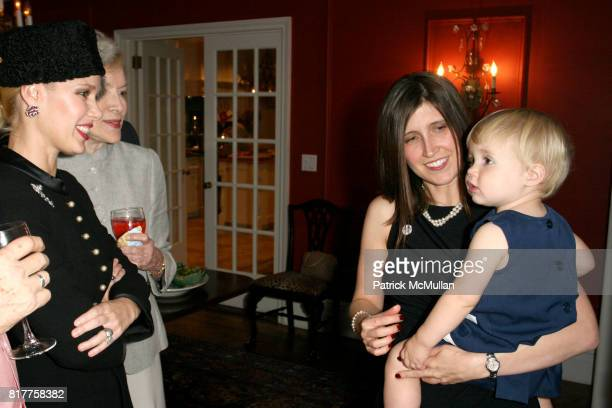 MichelleMarie Heinemann Claudia Gabel and attend Claudia Gabel celebrates the launch of her new book Romeo and Juliet and Vampires at 17 East 89th...