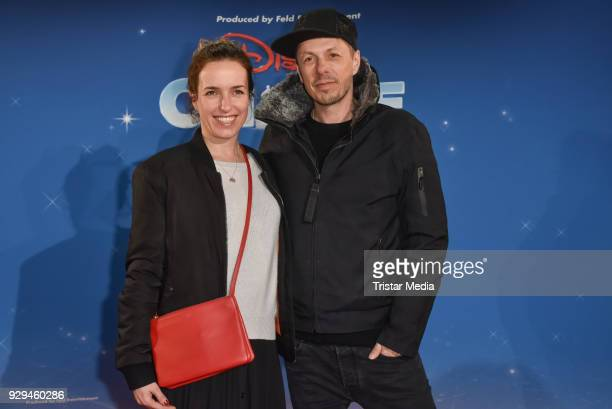 Michi Beck and his wife Ulrike Fleischer attend the Disney on Ice premiere 'Fantastische Abenteuer' at Velodrom on March 8 2018 in Berlin Germany