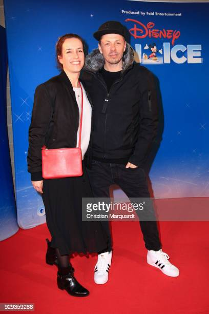 Michi Beck and partner Ulrike Fleischer attend the Disney on Ice premiere 'Fantastische Abenteuer' at Velodrom on March 8 2018 in Berlin Germany