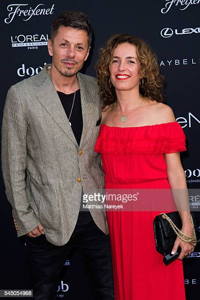 Michi Beck and Ulrike Fleischer during the MICHALSKY StyleNite 2016 on July 1 2016 in Berlin Germany