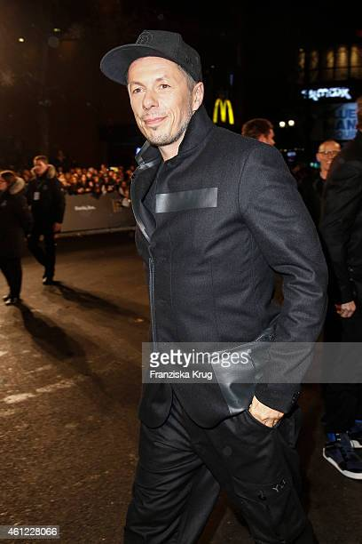 Michi Beck of the band Die Fantastischen Vier arrives at the Bambi Awards 2014 on November 13 2014 in Berlin Germany