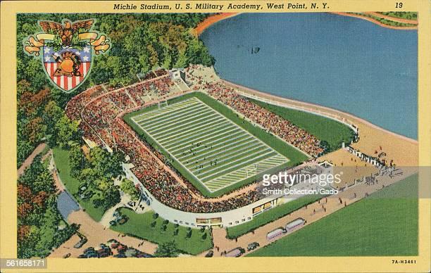 Michie Stadium, US Military Academy, West Point, 1943.