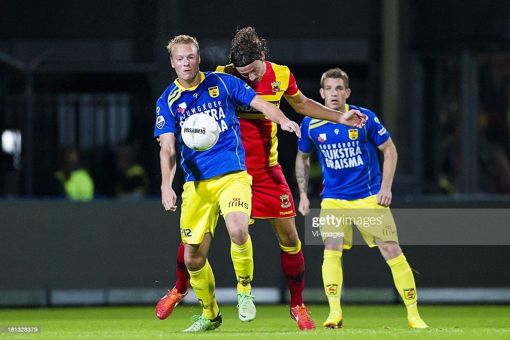 Michiel Hemmen Of Cambuur Leeuwarden Bart Vriends Of Go Ahead Eagles News Photo Getty Images