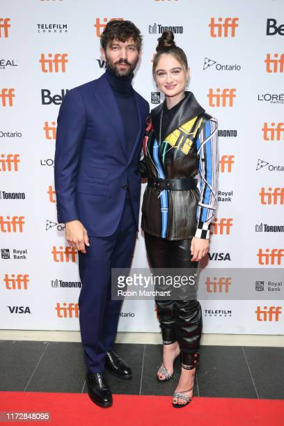 Michiel Huisman and Raffey Cassidy during The Other Lamb photo call during the 2019 Toronto International Film Festival at TIFF Bell Lightbox on...