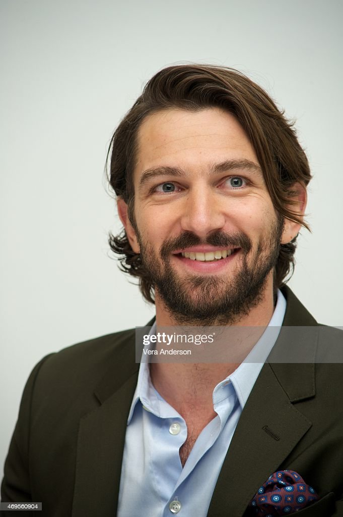 Michiel Huisman at the 'Age Of Adaline' Press Conference at the Four Seasons Hotel on April 12, 2015 in Beverly Hills, California.
