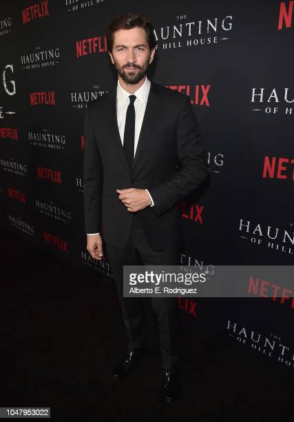 Michiel Huisman attend the premiere of Neflix's The Haunting Of Hill House at ArcLight Hollywood on October 8 2018 in Hollywood California