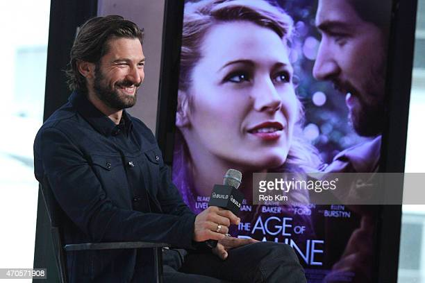 Michiel Huisman attends AOL Build Speakers Series Michiel Huisman at AOL Studios In New York on April 21 2015 in New York City