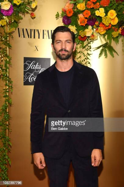 Michiel Huisman attends as Vanity Fair and Saks Fifth Avenue celebrate Vanity Fair's BestDressed 2018 at Manhatta on September 12 2018 in New York...