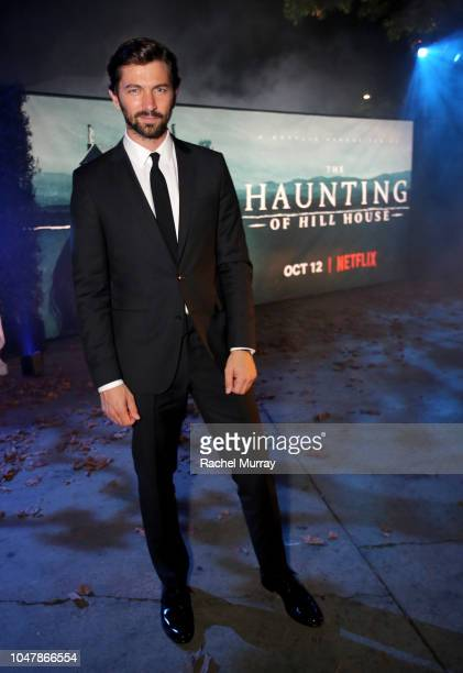 Michiel Huisman attends Netflix's The Haunting of Hill House Premiere afterparty at No Vacancy on October 8 2018 in Hollywood California