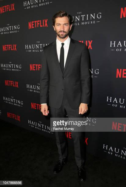 Michiel Huisman attends Netflix's The Haunting of Hill House Premiere at Arclight Hollywood on October 8 2018 in Hollywood California