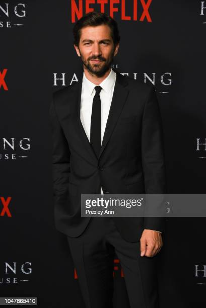 Michiel Huisman attends Netflix's The Haunting Of Hill House Season 1 Premiere Arrivals at ArcLight Hollywood on October 8 2018 in Hollywood...