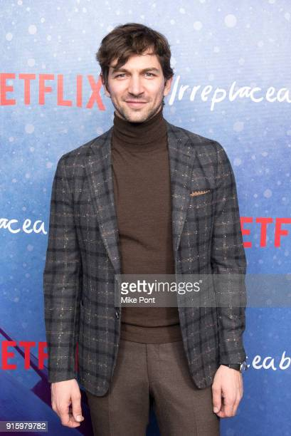 Michiel Huisman attends the Irreplaceable You New York screening at Metrograph on February 8 2018 in New York City