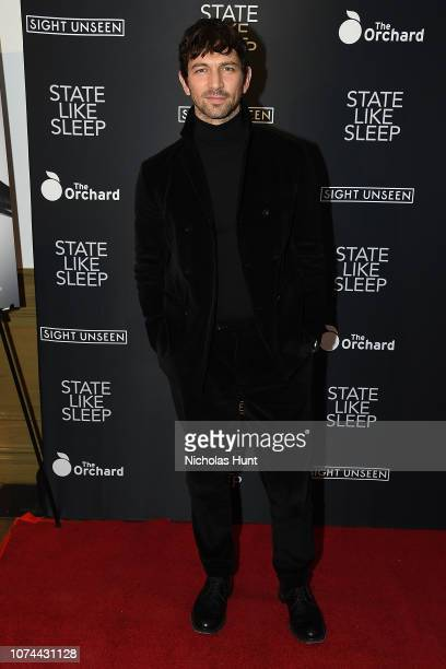 Michiel Huisman attends the State Like Sleep New York Screening at Crosby Street Theater on December 19 2018 in New York City