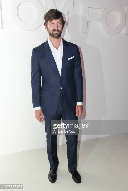 Michiel Huisman attends Tom Ford SS19 Fashion Show at Park Avenue Armory on September 5 2018 in New York City