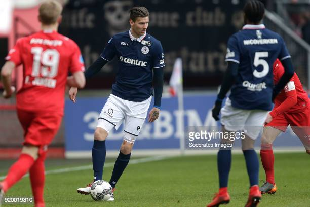 Michiel Kramer of Sparta Rotterdam during the Dutch Eredivisie match between Fc Twente v Sparta at the De Grolsch Veste on February 18 2018 in...