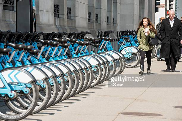 michigan avenue - april fool stock photos and pictures