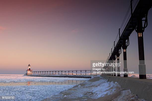 Michigan City by Sunrise