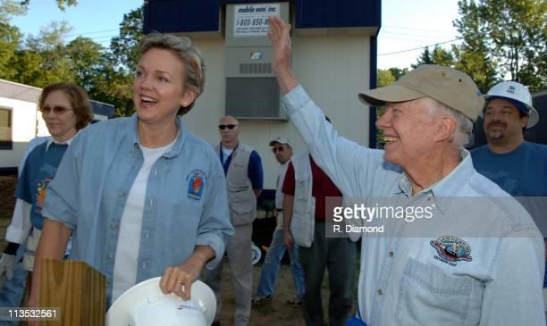 Michigan Govonor Jennifer Granholm and Former President Jimmy Carter