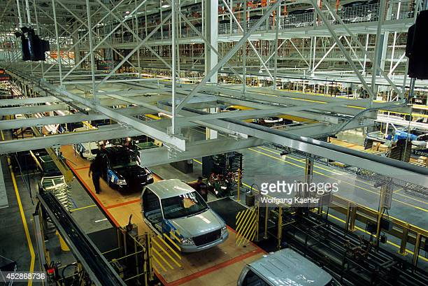USA Michigan Near Detroit Dearborn Ford Rouge Factory Tour Assembly Plant