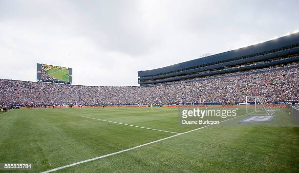 Michigan Stadium during the International Champions Cup match between Real Madrid and Chelsea on July 30 2016 in Ann Arbor Michigan