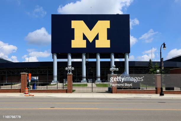 Michigan Stadium, the largest stadium in the United States, and second largest stadium in the world, home of the Michigan Wolverines football team...