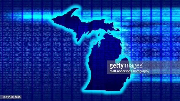 michigan - state 101010 - electoral college stock pictures, royalty-free photos & images