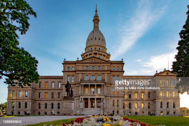 michigan state capitol building - ランシング ストックフォトと画像